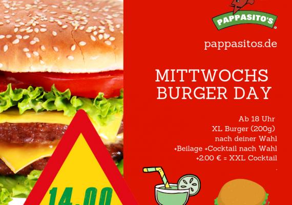 Mittwochs Burger DAY
